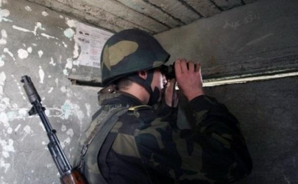 Գիշերը Ազրպէյճանական Զինուժը Կիրառած է Նաեւ DShK Տիպի Խոշոր Տրամաչափի Գնդացիր