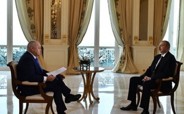 Լեռնային Ղարաբաղը Կրնայ Ըլալլ Ինքնավար Հանրապետութիւն․ Ալիեւի Հարցազրոյցը «Russia Today»-ին
