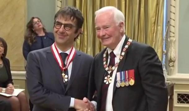Ատոմ Էկոյեանին Շնորհուած է Գանատայի Ազգային Շքանշանի Բարձրագոյն Տիտղոսը